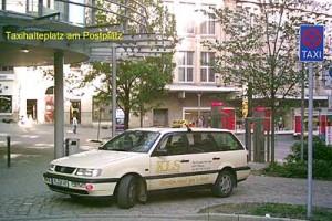 Taxi Standplätze